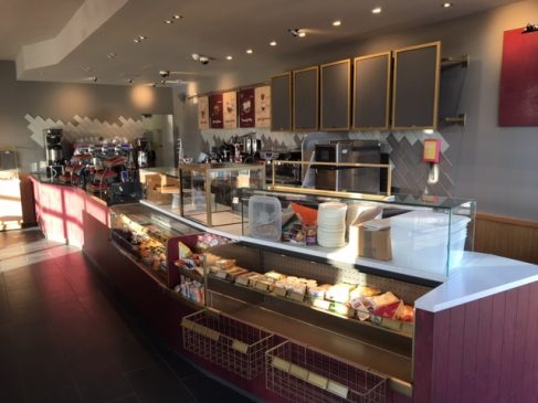 Costa Coffee interior fit out